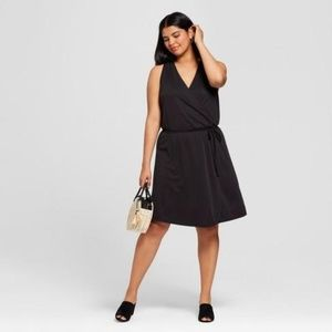 A New Day Wrap Dresses Black